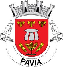 Brasão da Vila de Pavia