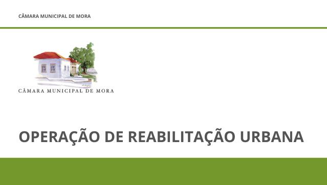 Operação de Reabilitação Urbana de Mora