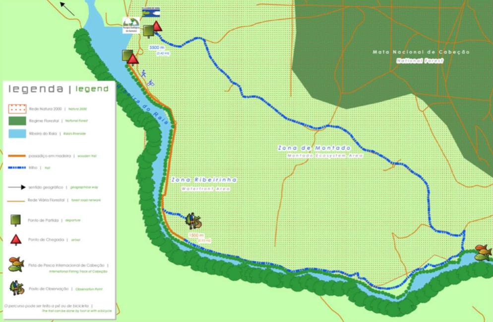 Mapa Percurso Gameiro
