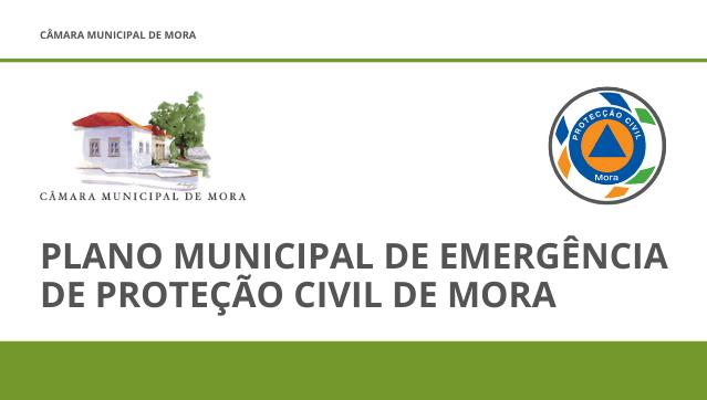 Plano Municipal de Emergência de Proteção Civil de Mora