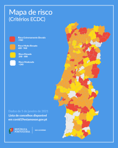 Mapa de Risco - 5 de Janeiro