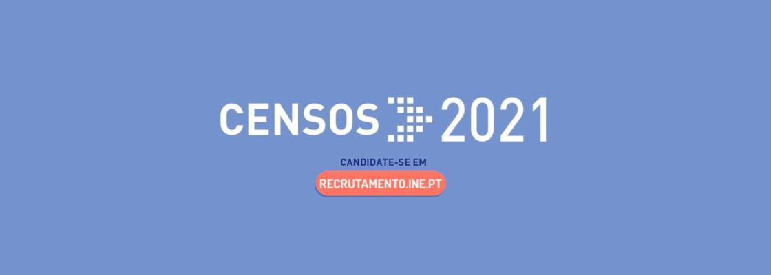 Recrutamento Censos INE 2021
