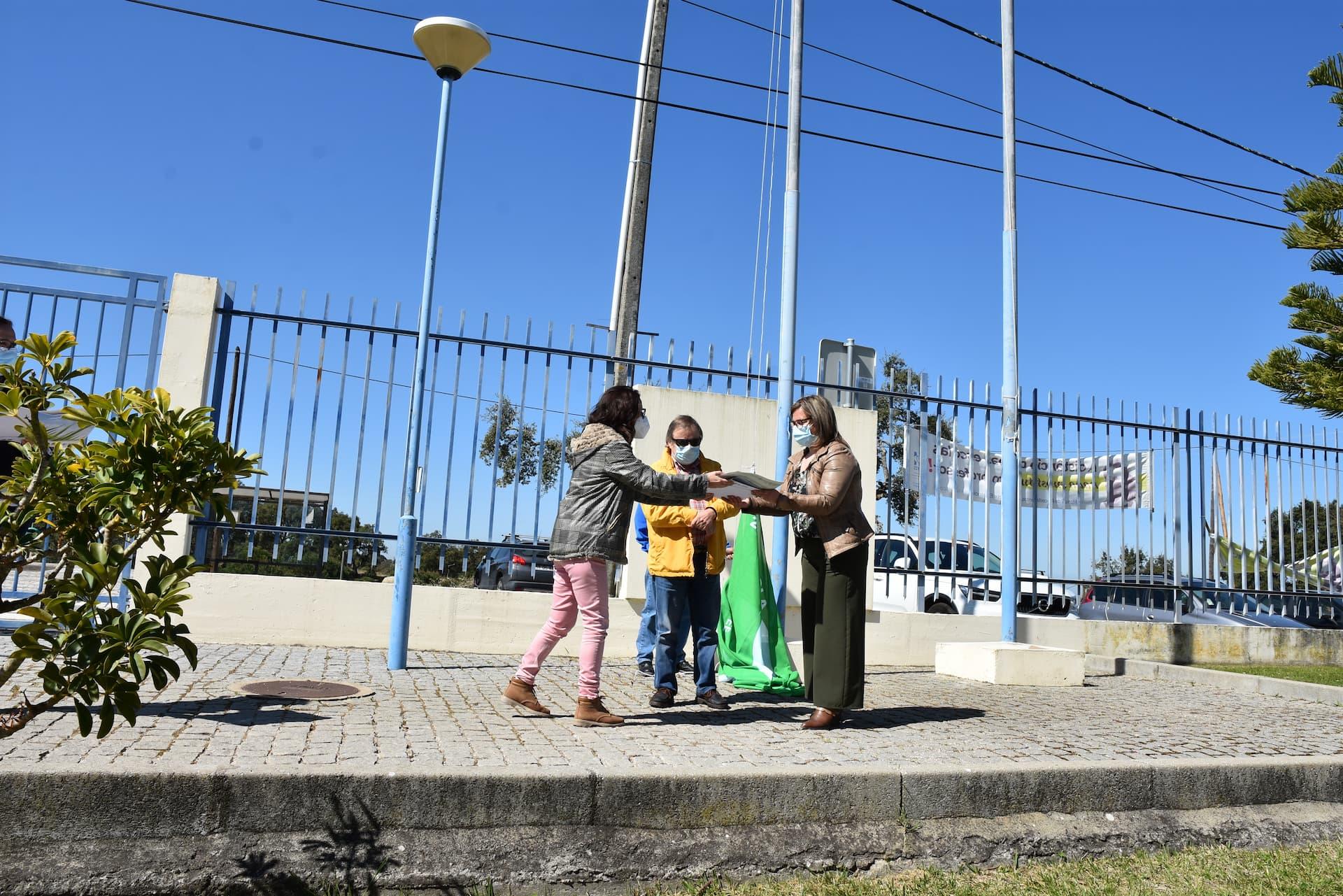 Escola de Mora recebe galardão Eco Escolas