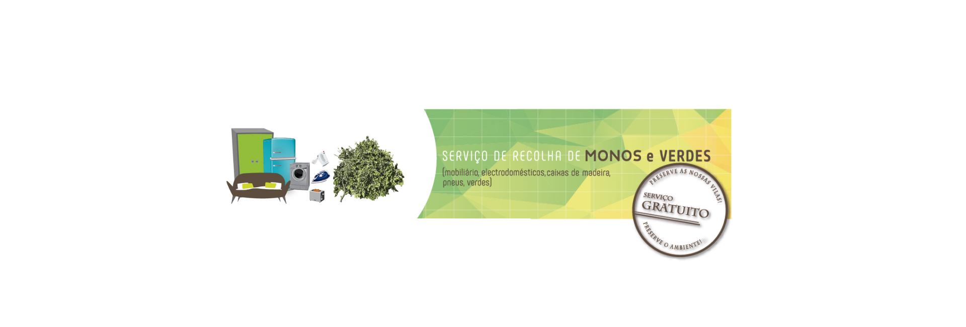 A Câmara Municipal de Mora faz recolha de monos e verdes gratuitamente