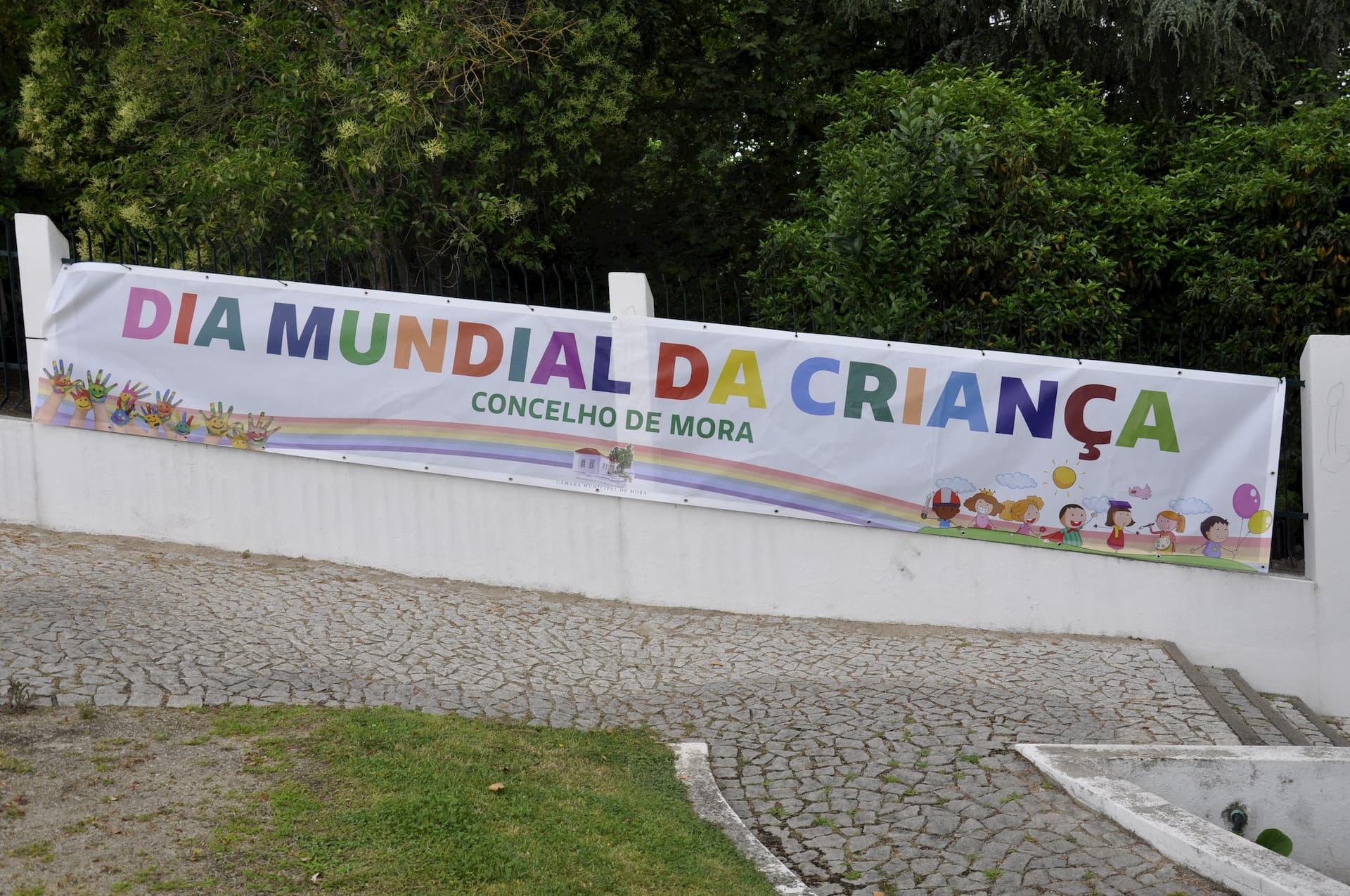 Parque Urbano e Jardim Público de Mora recebem comemorações do Dia Mundial da Criança