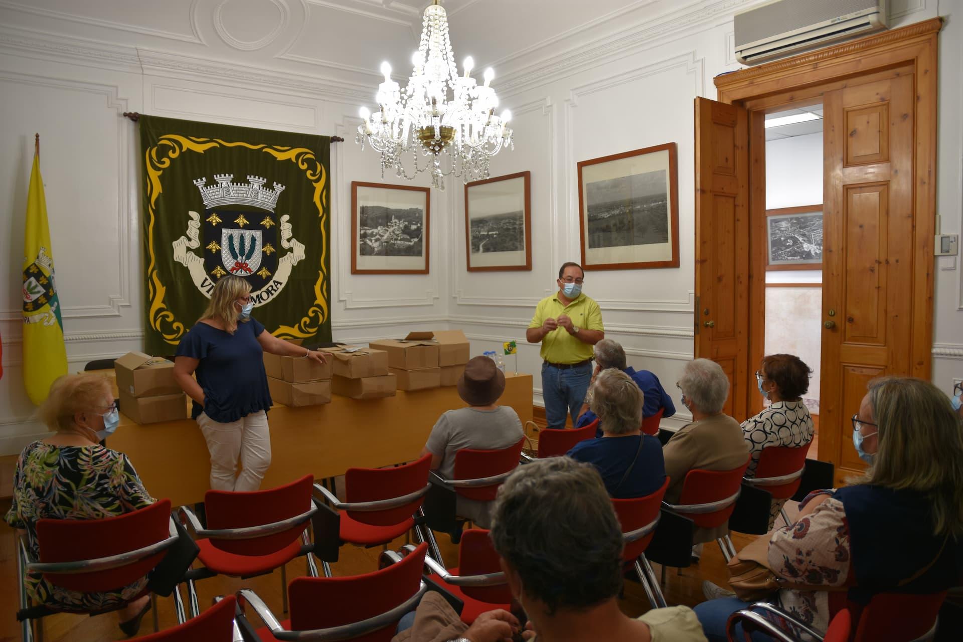 Câmara Municipal de Mora promove atividade dos Grupos de Cantares e Rancho Folclórico
