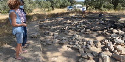 Escavações arqueológicas em Brotas